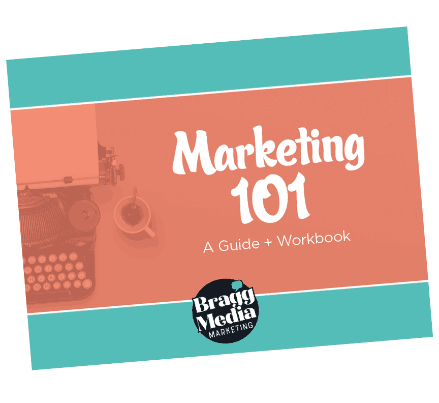 The cover to a free PDF ebook that says The Ultimate Toolkit for Marketing